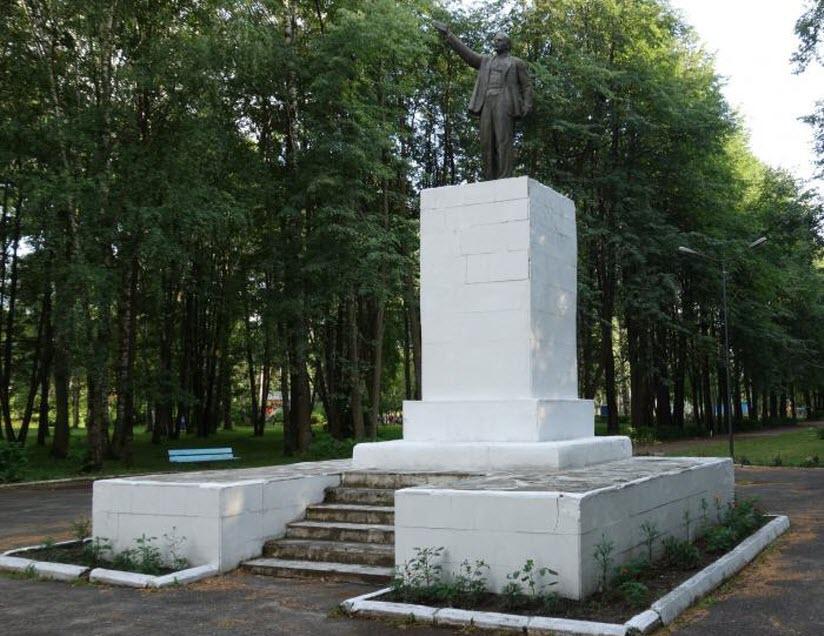 фото памятника Ленину