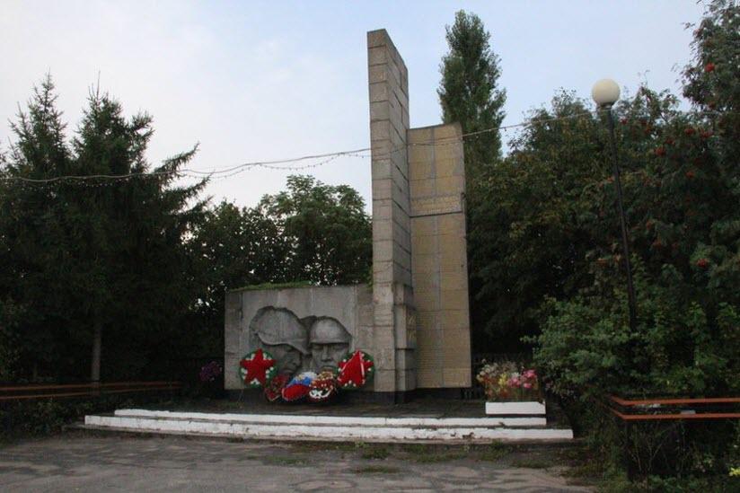 Монумент в честь павших в боях Великой Отечественной войны