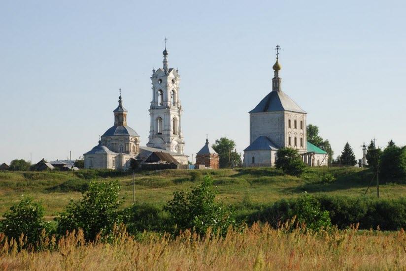 Никольская церковь в селе Погост