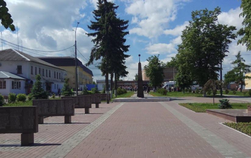 Площадь имени Н.А. Тимофеева