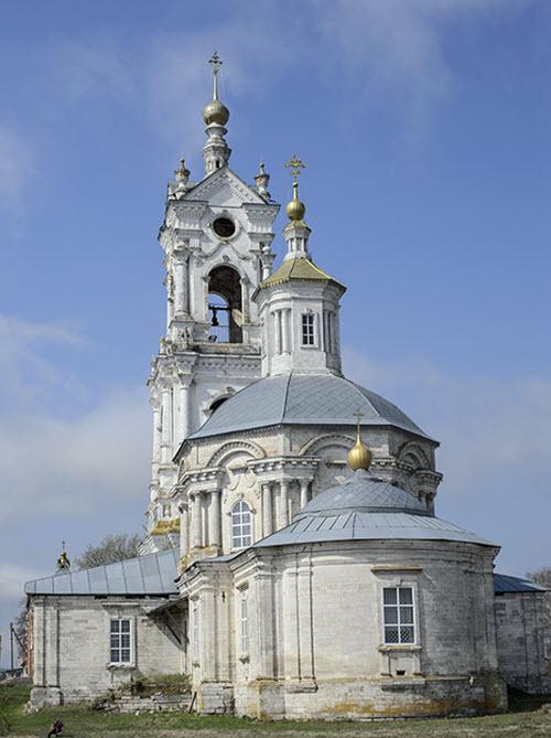 Преображенская церковь с колокольней в с. Погост