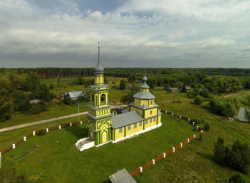 Церковь Рождества Христова в Даньково