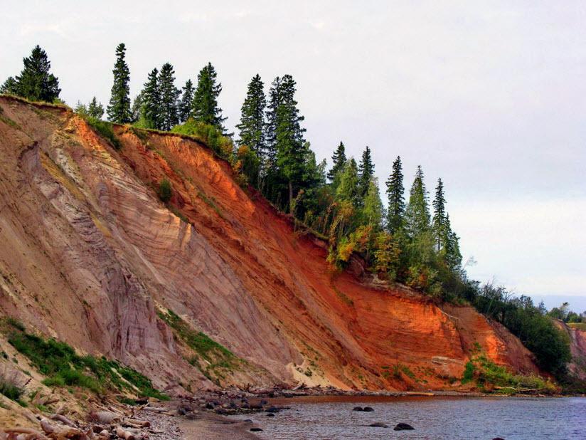 Андомский геологический разрез
