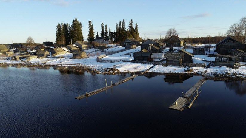 Деревня Панозеро