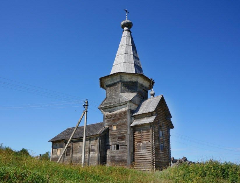 Ильинская церковь в Саминском погосте