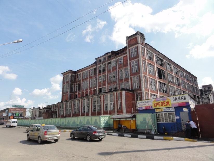 Комплекс бывшей текстильной фабрики