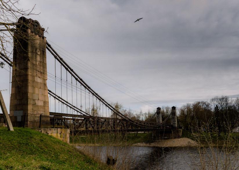 Мосты через реку Великую