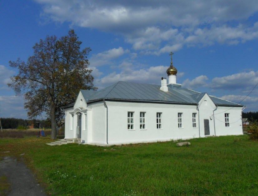 Никольская церковь в Гридино
