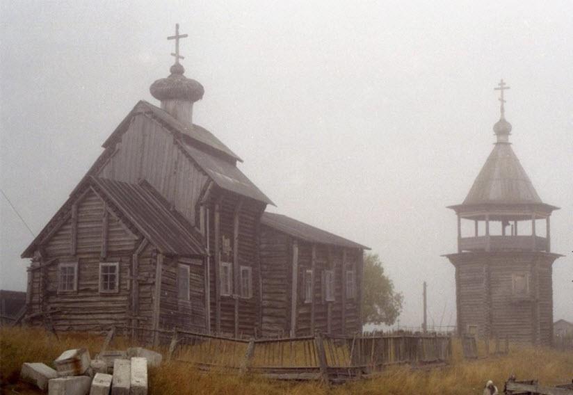 Никольская церковь в с. Ковда