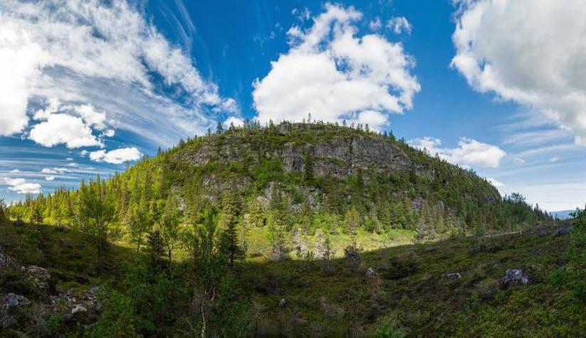 Окатьева гора и ущелье Железные ворота