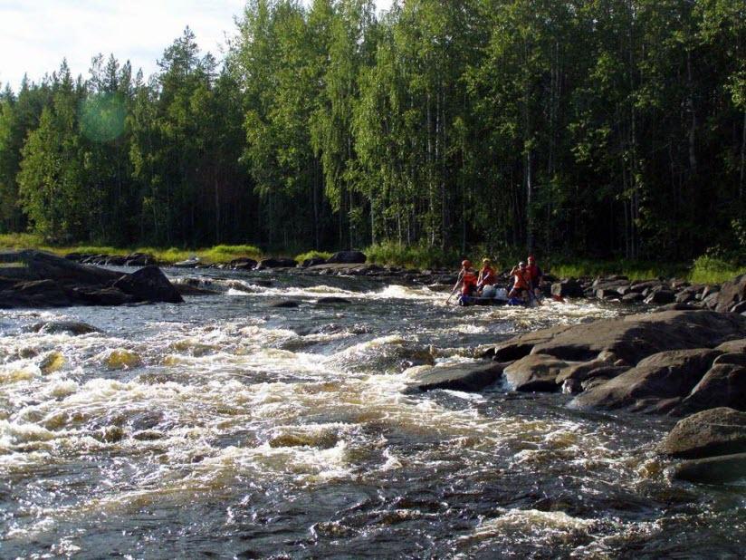 Река Воньга