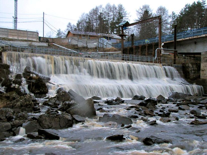 Водопад Ляскеля