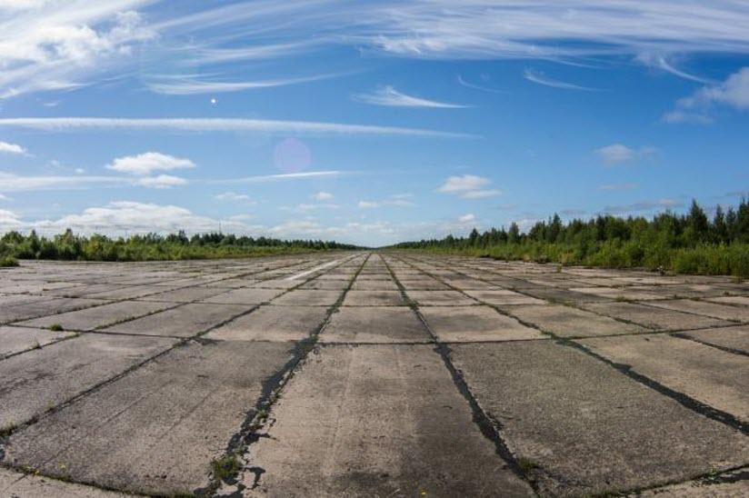 Заброшенный аэропорт Подужемье