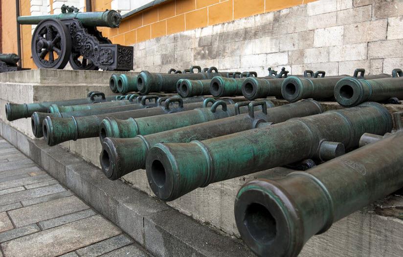 Артиллерийские орудия