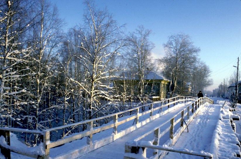 Деревянные мостовые