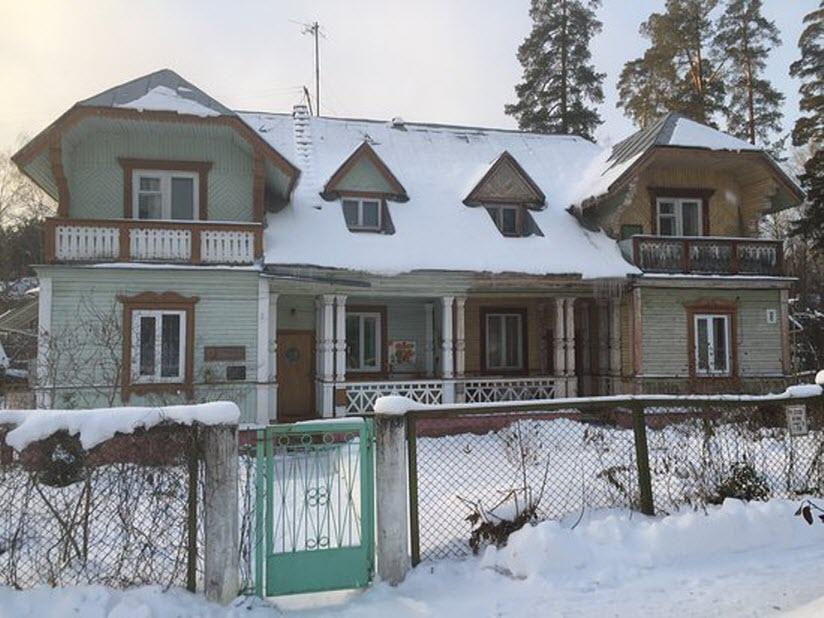 Дом, в котором жил академик А.Д. Сахаров