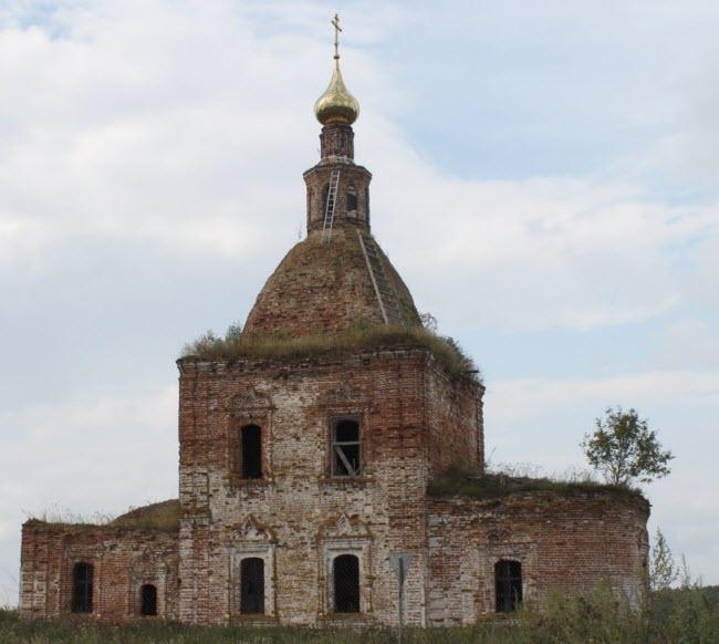 Храм Богоявления Господня в Глебовском