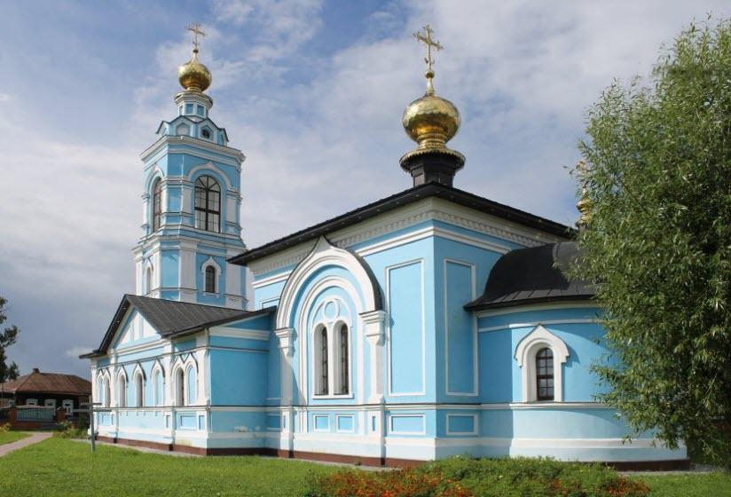Храм свв. Бориса и Глеба в с. Ляховицы