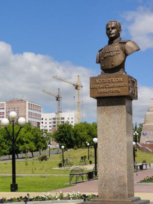 Памятник Б.Г. Музрукову