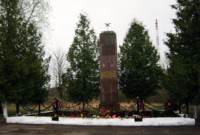 Памятник детям-узникам концлагеря