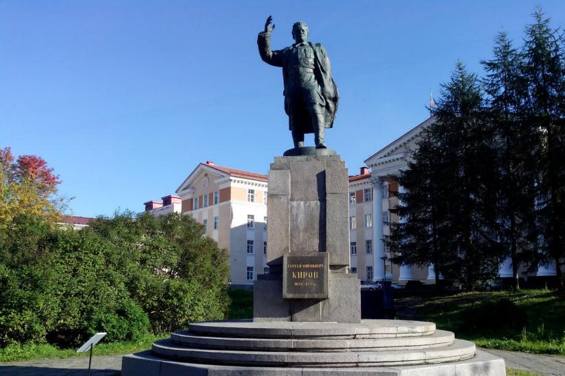 Памятник С.М. Кирову