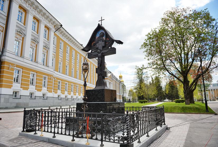 Памятник Великому князю С.А. Романову