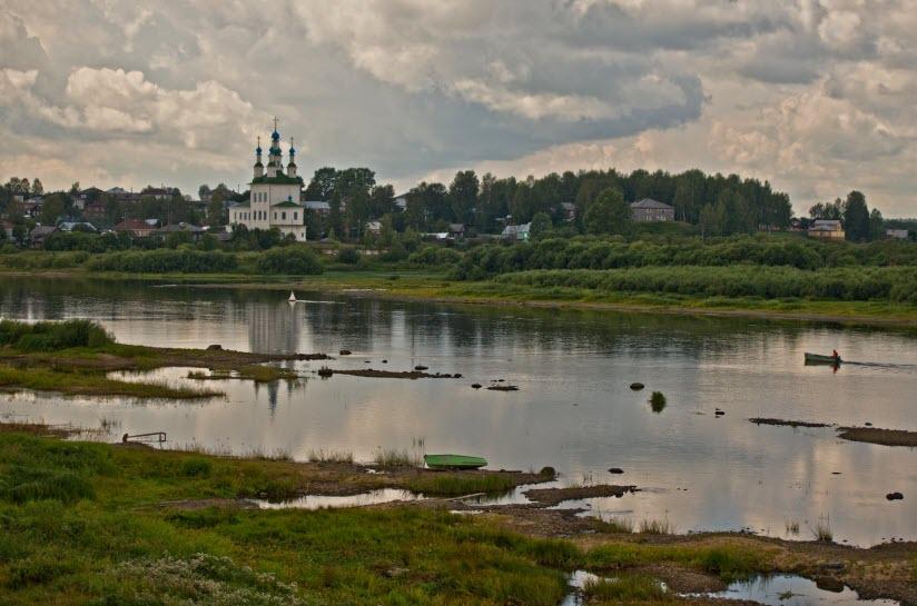 Река Сухона