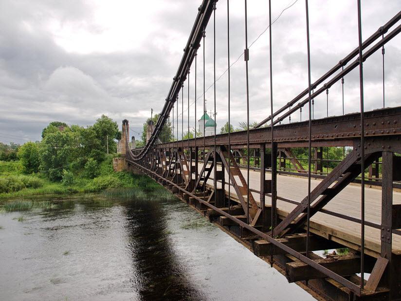 Висячие цепные мосты