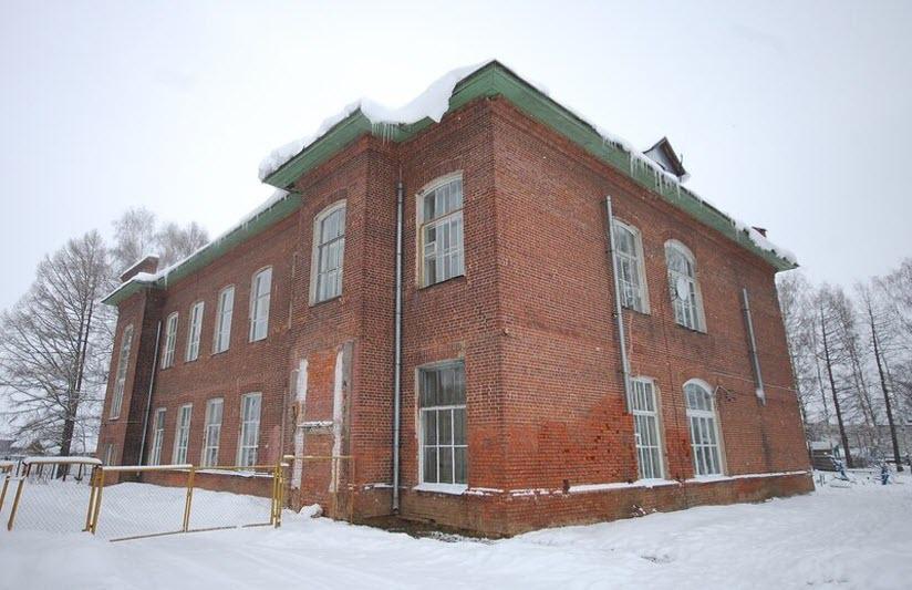 Здание народной школы