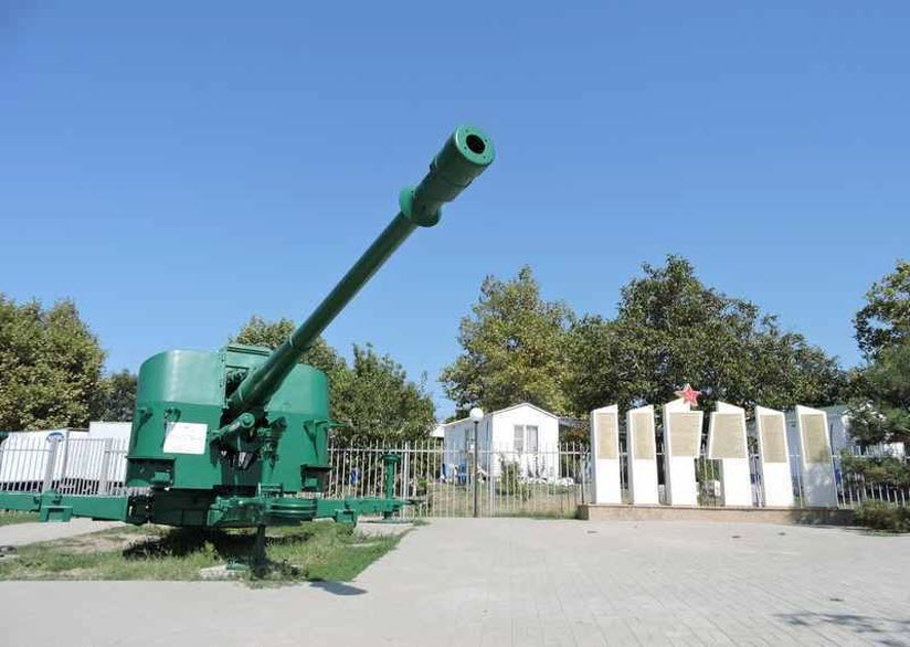 Артиллерийская батарея БС-464