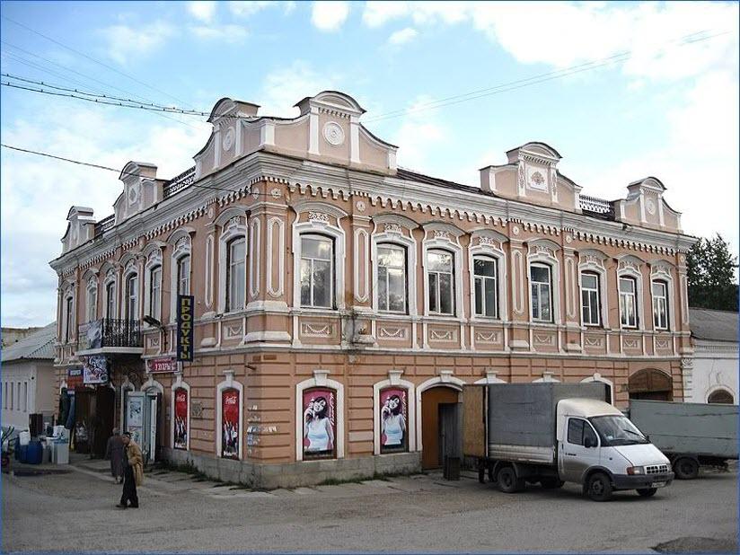 Дом купца Жарова