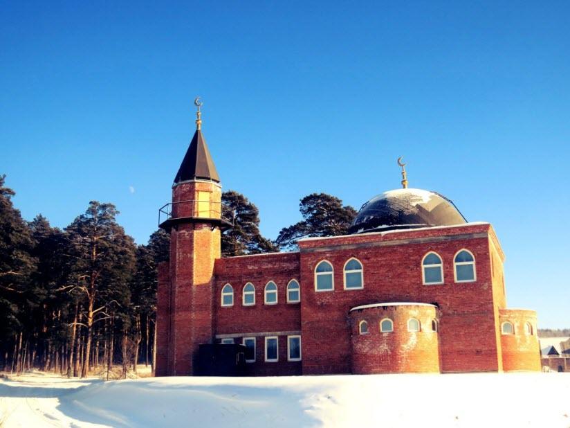 Мечеть в пгт. Селянкино
