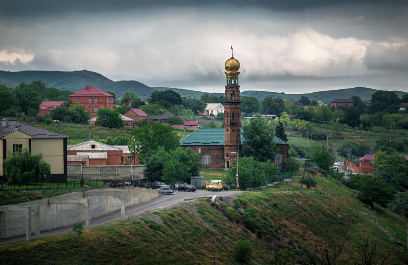 Мечеть в селе Барсуки