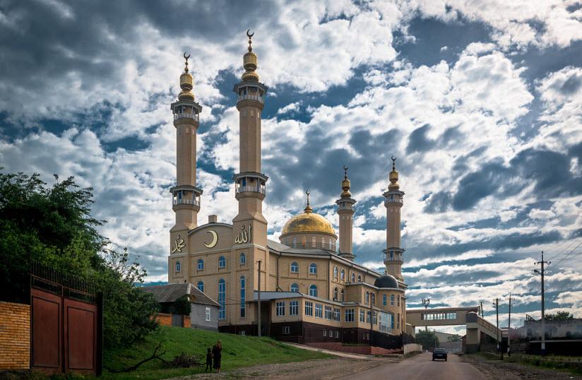Мечеть в селе Экажево