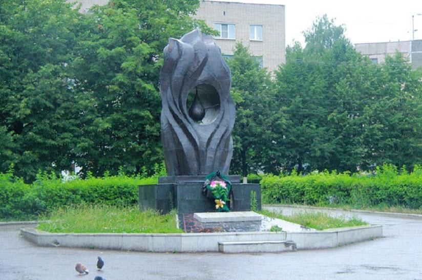 Монумент жертвам Чернобыльской АЭС