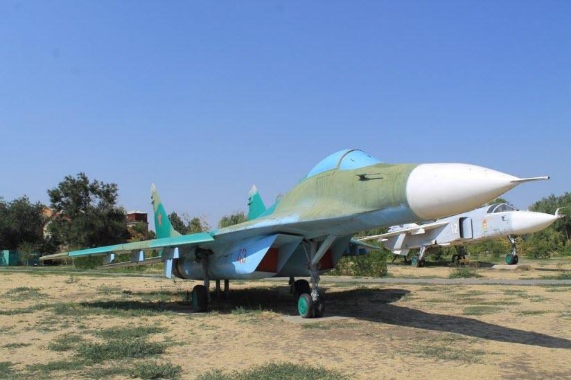 Музей авиационной техники в Парке Победы