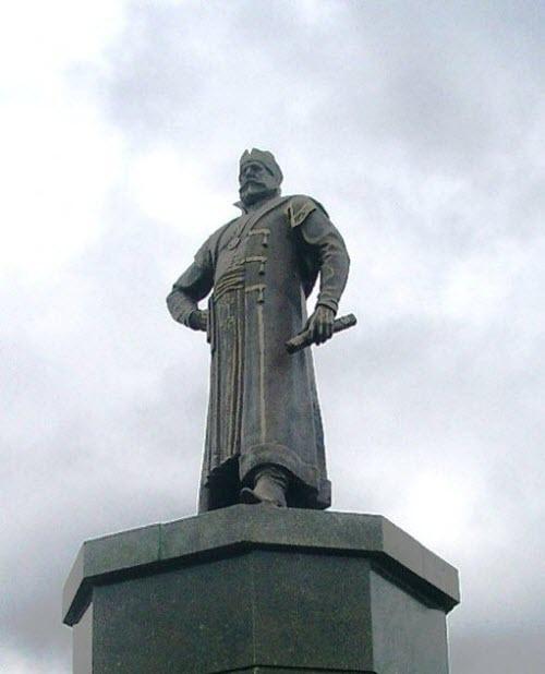 Памятник Григорию Пушке