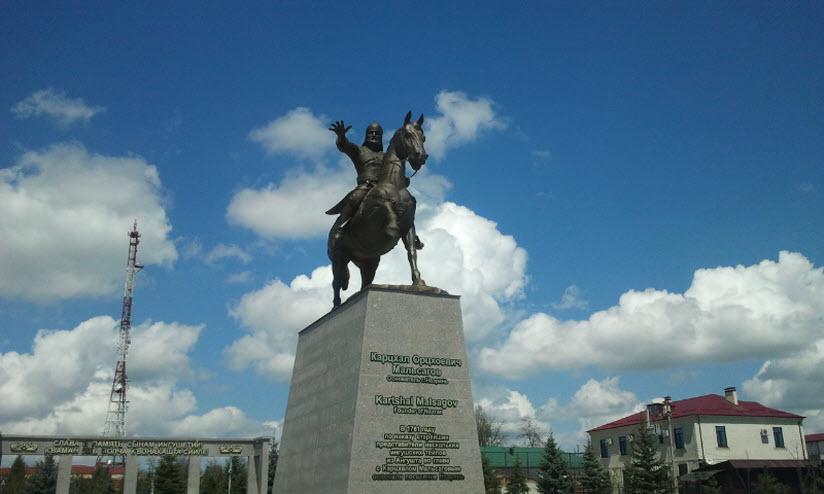 Памятник Карцхалу Мальсагову