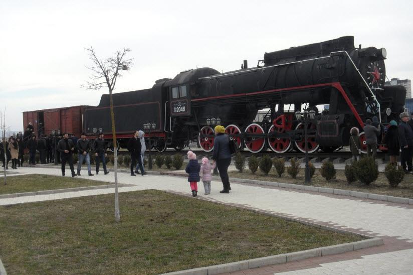 Поезд времен депортации ингушей 1944 года