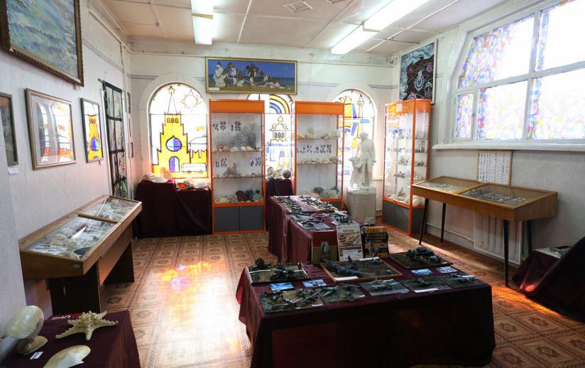 Пушкинский краеведческий музей внутри