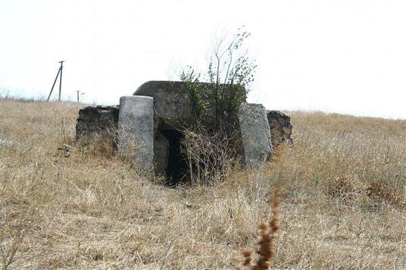Руины 743-й артиллерийской батареи