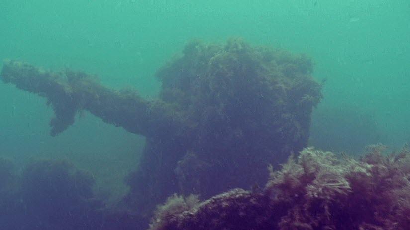 Затопленное судно «Одесский горсовет»