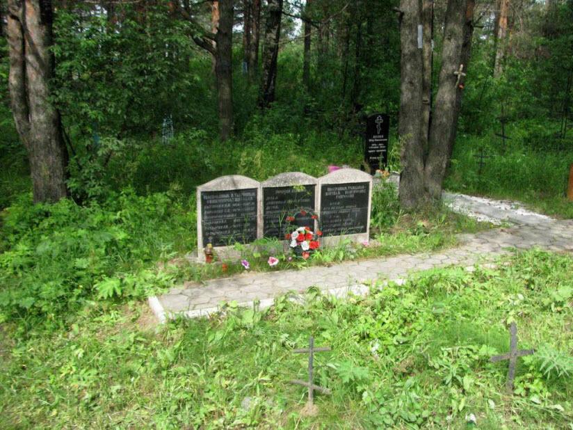 Кладбище Макариха