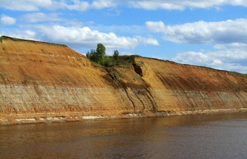 Место палеонтологических раскопок