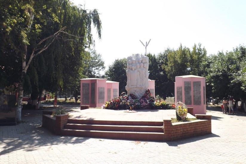 Памятник павшим в Великой Отечественной войне в парке Победы