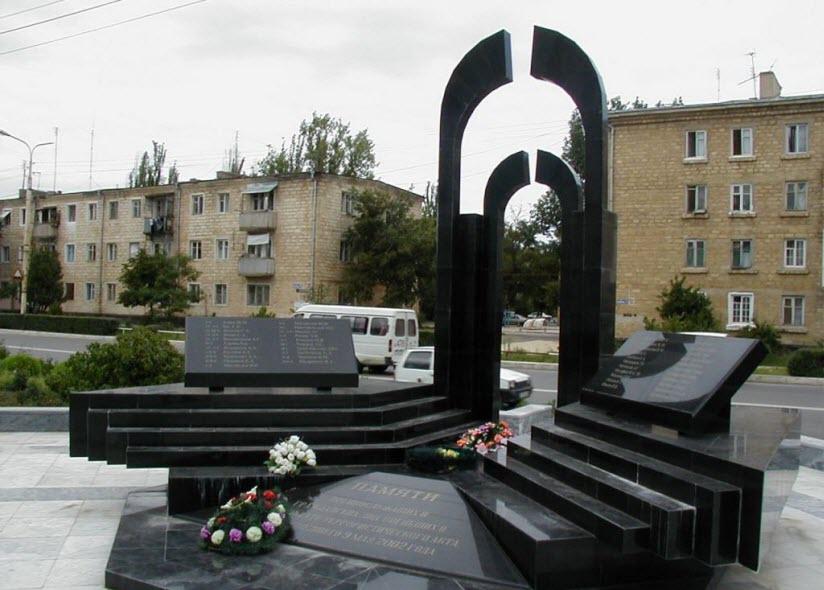 Памятник жертвам теракта 9 мая 2002 года