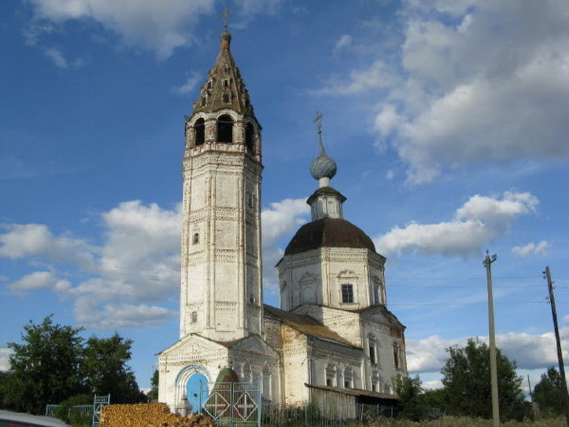 Церковь Георгия Победоносца в Ярышево