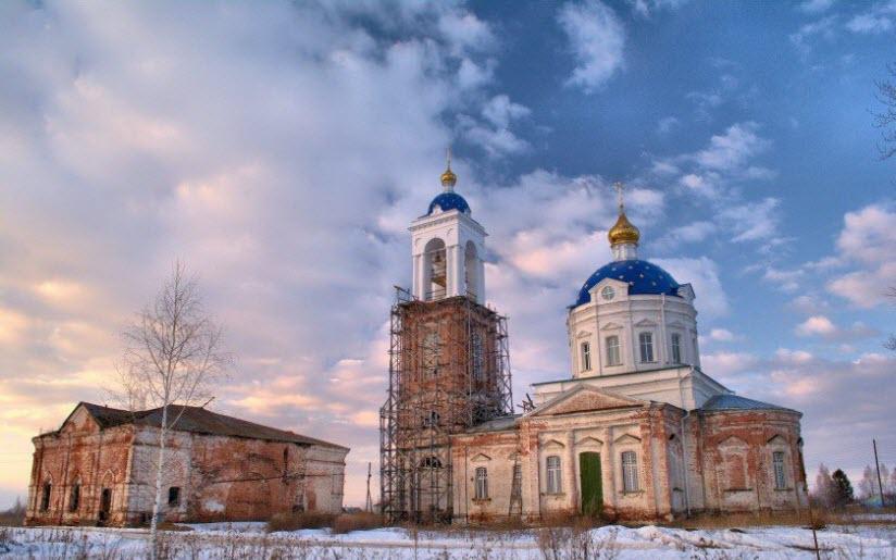 Церковь иконы Божией Матери «Неопалимая Купина» в Бородино
