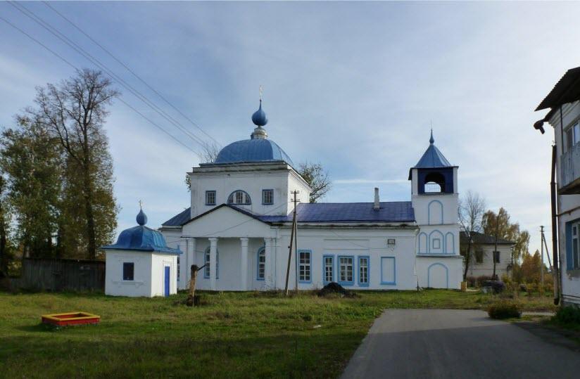 Церковь Николая Чудотворца в с. Петрово Городище