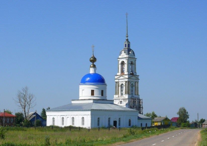 Церковь Рождества Пресвятой Богородицы в с. Подолец